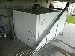 TRJ 47 Ton Ice Storage with Automatic Ice Rake with Insulated Enclosure