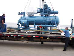 600 HP Screw Compressor