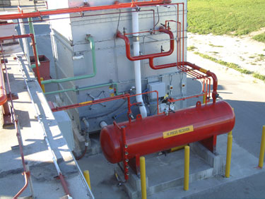 Evaporative Condenser & Industrial Refrigeration Systems: Cold Storage Freezing Systems and ...