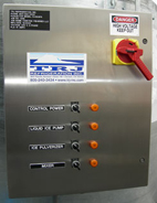 PJ1000 FS with Standard Stainless Steel Control Panel